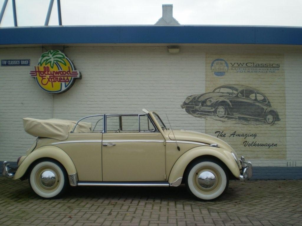 64er Cabrio bekleden - VW Classics
